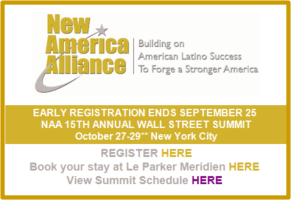 New America Alliance Wall Street Summit Announcement