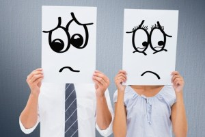 family and career Balance in relationships, unhappy couple