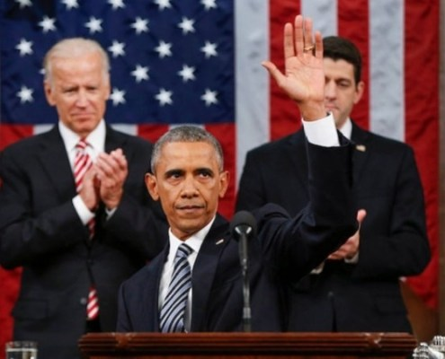 President Barack Obama last State of the Union Address