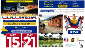 NYSCHCC International Trade Mission to Colombia