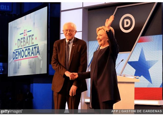Sanders Clinton Debate in Miami big banks
