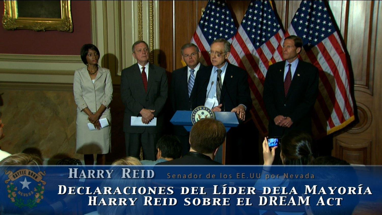 Senator Harry Reid Angela Arboleda
