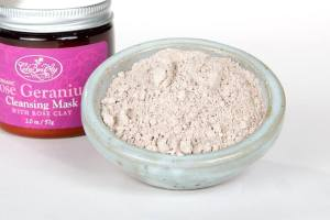 Rose clay mask Celebritay Latina small business owners