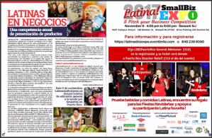 Latina SmallBiz Expo Nuestra Gente Magazine