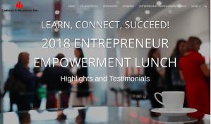 women of color entrepreneur empowerment lunch