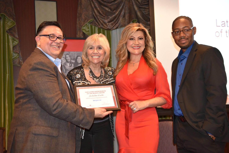 Latina journalist Jackeline Cacho membership