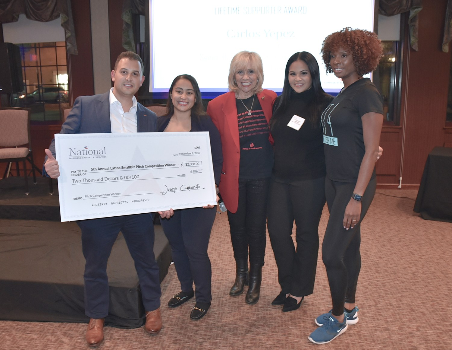 pitch competition, Latinas in Business Inner Circle
