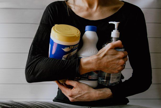 products proven to kill coronavirus, disinfectants