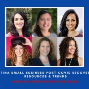 National Conversation with Latina Leaders, Latina Small Business Post-Covid Recovery,
