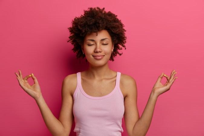 yoga, fitness, meditation