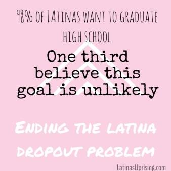latina drop out rate