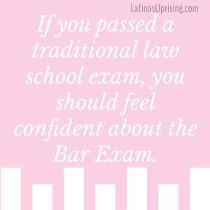 passing the bar exam