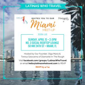 Latinas Who Travel Latinas Que Viajan Miami
