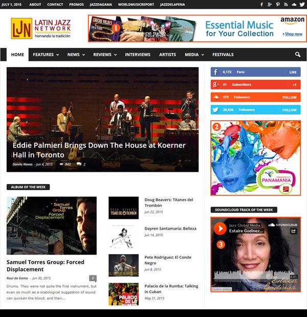 Latinjazznet Advertising