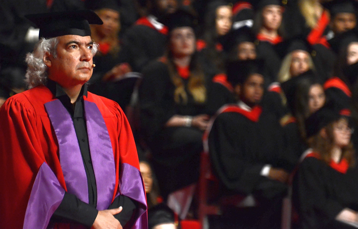 Manuel Obregon at York University Toronto - June 16 2015 02