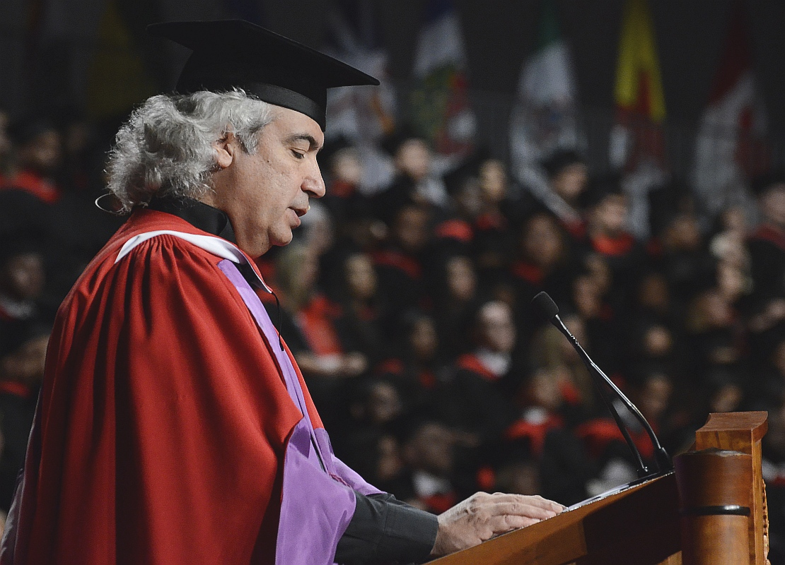 Manuel Obregon at York University Toronto - June 16 2015 04