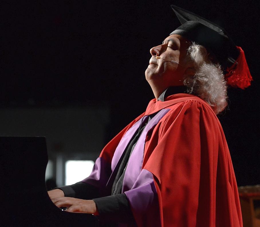 Manuel Obregon at York University Toronto - June 16 2015 05