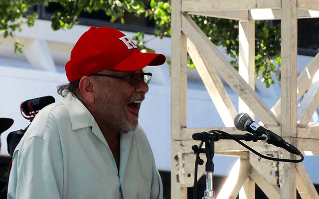 Eddia Palmieri at The San Jose Jazz Summer Fest 2015