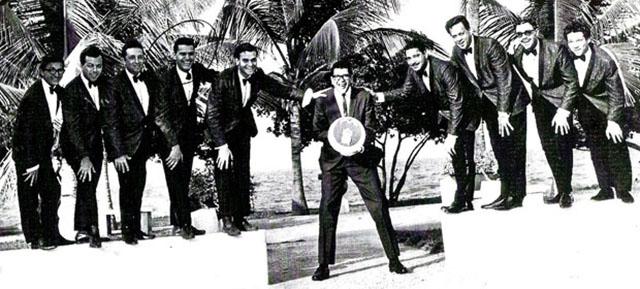 Edy Martínez with Ray Barreto's Orchestra, Maracaibo, Venezuela, 1966.
