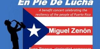 En Pie de Lucha - Miguel Zenón - Benefit Concerts