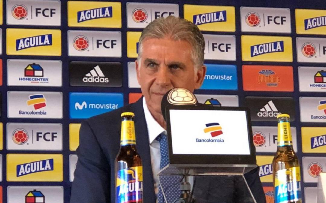 ¡Grandes sorpresas! Lista de la Selección Colombia para Eliminatorias