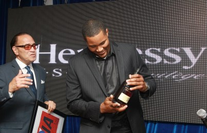 New York Mets pitcher Jeurys Familia is seen at Hennessy V.S.O.P Privilege Celebrates Hennessy All-Star Jeurys Familia at Stage 48 on Monday, June 20, 2016, in New York. (Photo by Donald Traill/Invision for Hennessy V.S.O.P Privilege/AP Images)
