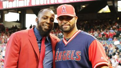 Photo of Vladimir Guerrero gets his wings as member of Angels Hall of Fame