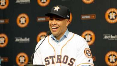Photo of He finally put a ring on it: Beltran retires as World Series winner