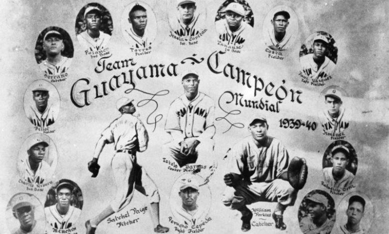 The championship Guayama team of 1939-40 that included Perucho Cepeda (Orlando's father) and pitcher Satchel Paige.
