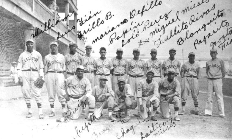 Santo Domingo's Leones del Escogido 1935 team.