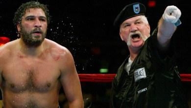 Photo of John Ruiz: Former Latino Heavyweight Champion Now an Observer