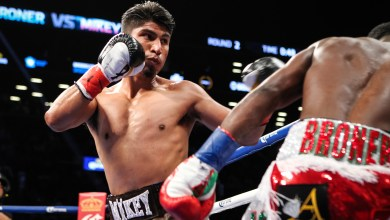 Photo of MIKEY GARCIA OUTPOINTS ADRIEN BRONER BY UNANIMOUS DECISION IN SUPER LIGHTWEIGHT MAIN EVENT SATURDAY ON SHOWTIME®
