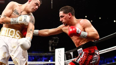 Photo of DANNY GARCIA KNOCKS OUT BRANDON RIOS IN WELTERWEIGHT TITLE ELIMINATOR
