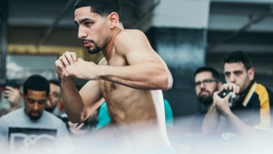 Photo of DANNY GARCIA VS. SHAWN PORTER FIGHT WEEK MEDIA WORKOUT QUOTES & PHOTOS