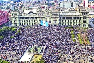 GUATEMALA-POLITICS-CORRUPTION-PROTEST
