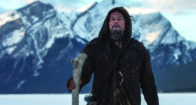 Leonardo DiCaprio, es el gran y claro favorito por su visceral interpretación en The Revenant./ARCHIVO