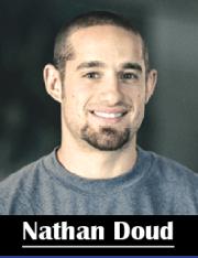Nathan Doud es un atleta profesional de crossfit y el propietario de Beachside Crossfit en Ventura.