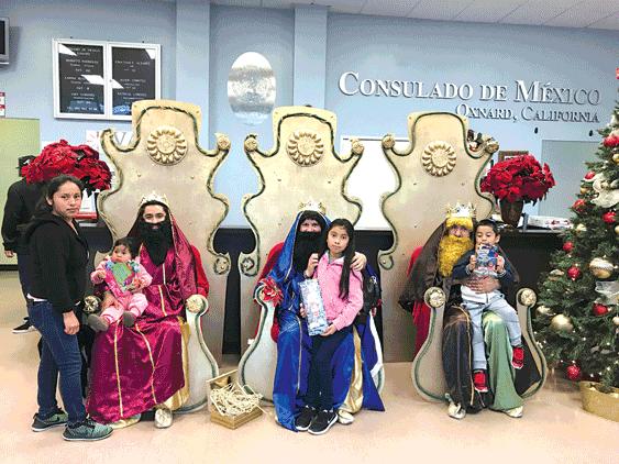 Consulado mexicano en Oxnard llevó los Reyes y la Rosca