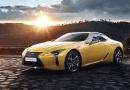 Lexus lanza edición Amarilla especial Nápoles