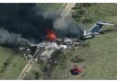 Se desploma avión en Houston