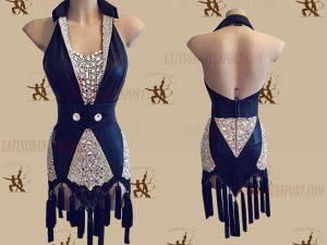 LATINODANCESPORT.COM-Ballroom LATIN RHYTHM Dance Dress-LDS-18