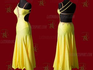 LATINODANCESPORT.COM-Ballroom STANDARD SMOOTH Dance Dress-SDS-18