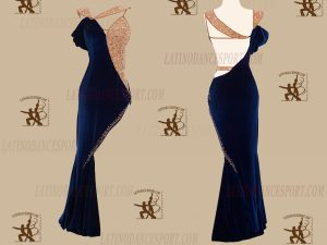 LATINODANCESPORT.COM-Ballroom LATIN RHYTHM Dance Dress-LDS-58