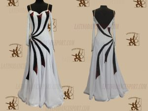 LATINODANCESPORT.COM-Ballroom STANDARD SMOOTH Dance Dress-SDS-34