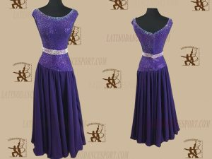 Latinodancesport.com-Ballroom Standard Smooth Dance Dress-SDS-37
