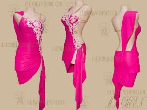 LATINODANCESPORT.COM-Ballroom Latin Rhythm Dance Dress-LDS-82