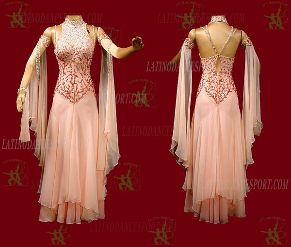 Latinodancesport.com-Ballroom Standard Smooth Dance Dress-SDS-01