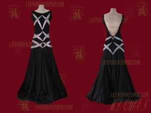 Latinodancesport.com-Ballroom Standard Smooth Dance Dress-SDS-11A