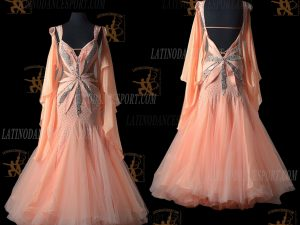 Latinodancesport.com-Ballroom Standard Smooth Dance Dress-SDS-39