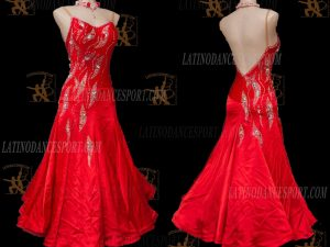 Latinodancesport.com-Ballroom Standard Smooth Dance Dress-SDS-48
